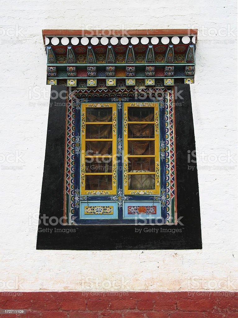 Monastery Window royalty-free stock photo