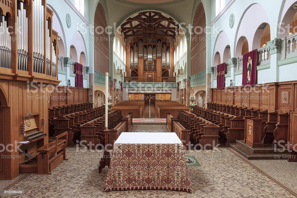 Monastic Sanctuary stock photo