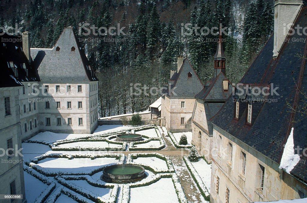Monastère de la Grande-Chartreuse stock photo