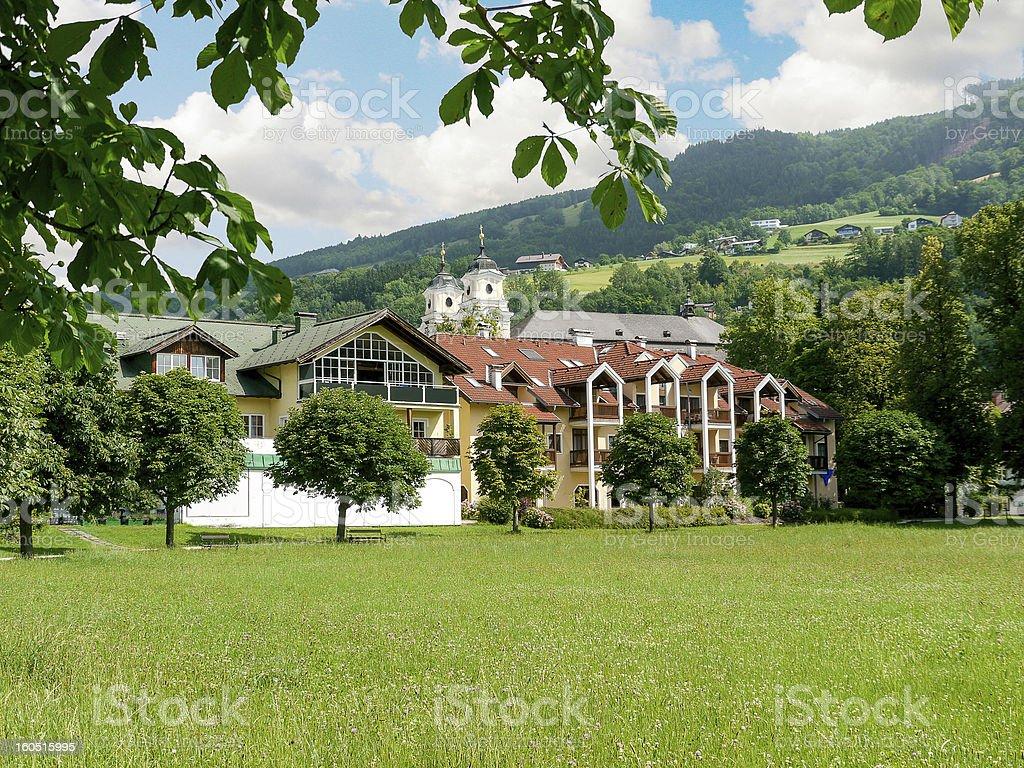 Mondsee, Austria royalty-free stock photo