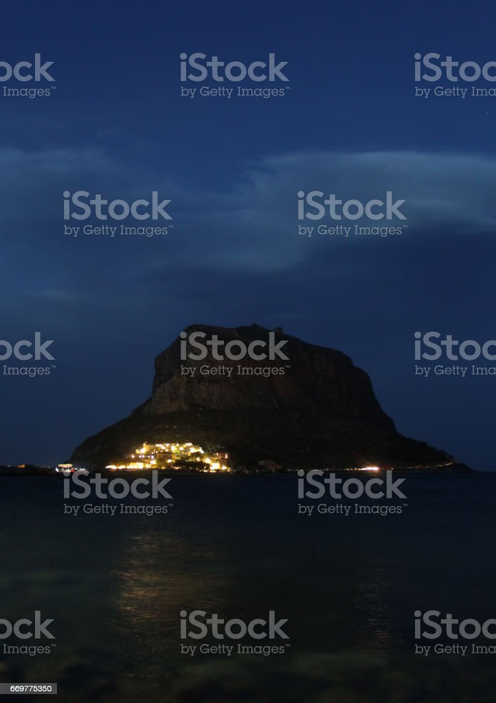 Monemvasia stock photo