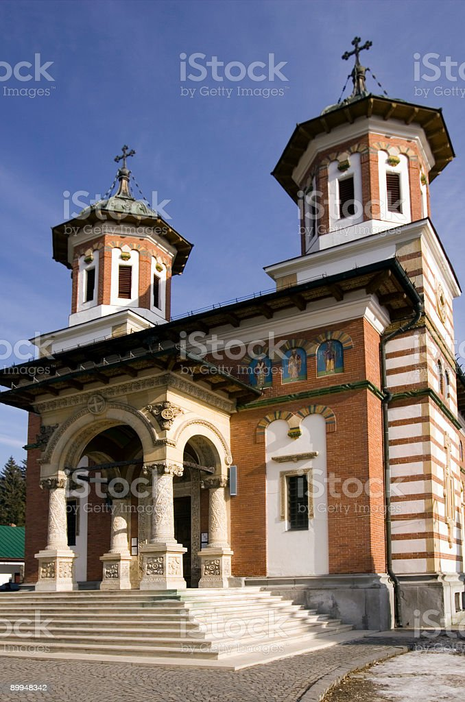 monestary in sinaia, Rumania royalty-free stock photo