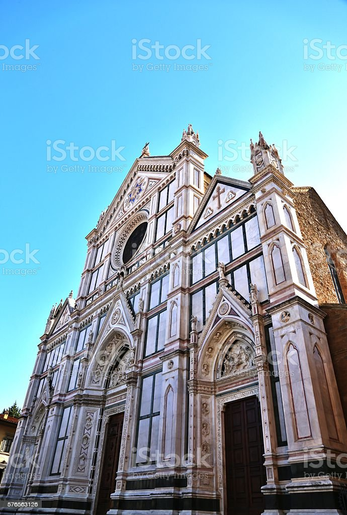 Monestary Of Santa Croce stock photo