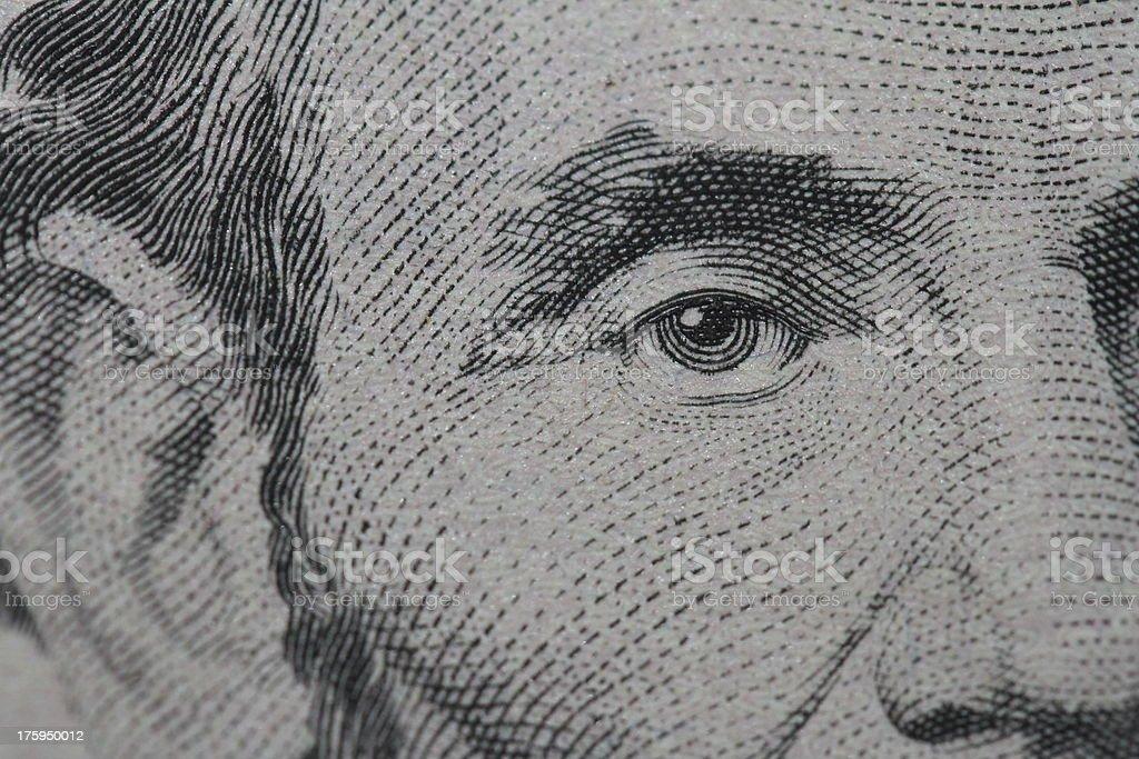 Monetary Close-up stock photo