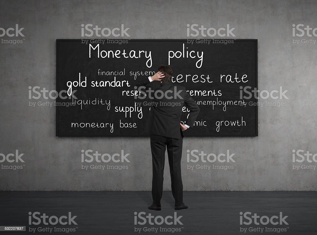 monetary policy stock photo