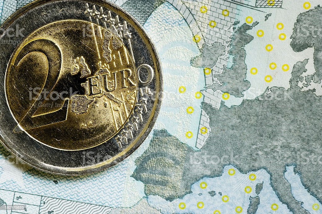 Monetary Union royalty-free stock photo