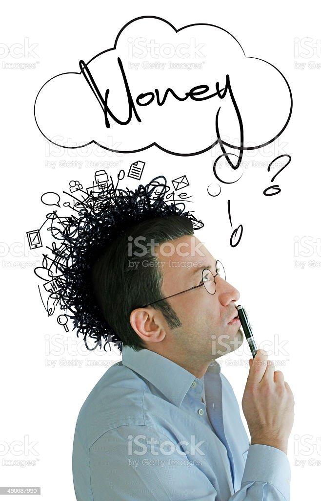 Monetizing Intellectual stock photo