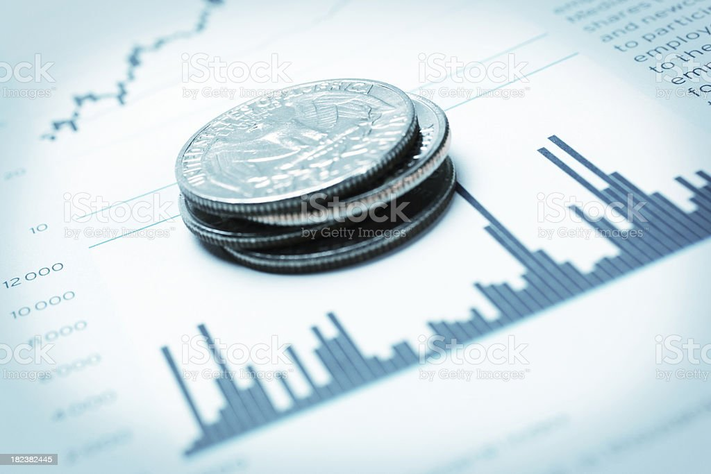 Money and Investment royalty-free stock photo