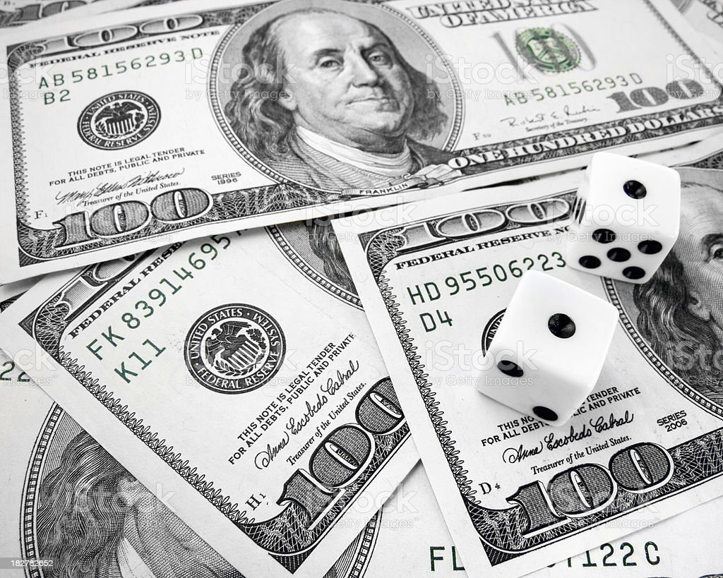Money and Luck stock photo