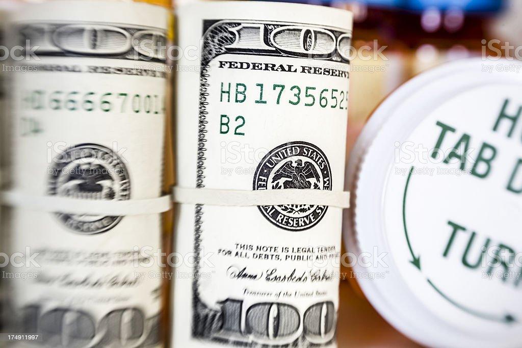 Money And Medicine stock photo