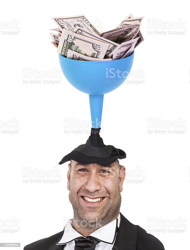 Money and People stock photo