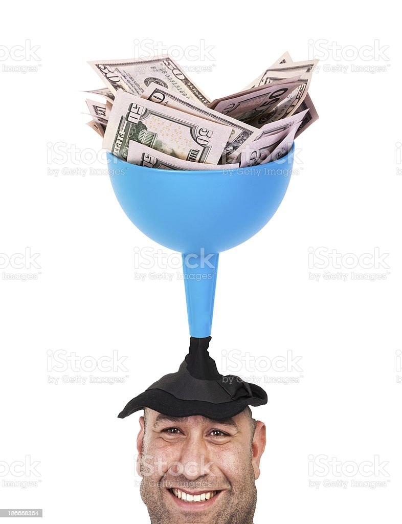 Money and People royalty-free stock photo