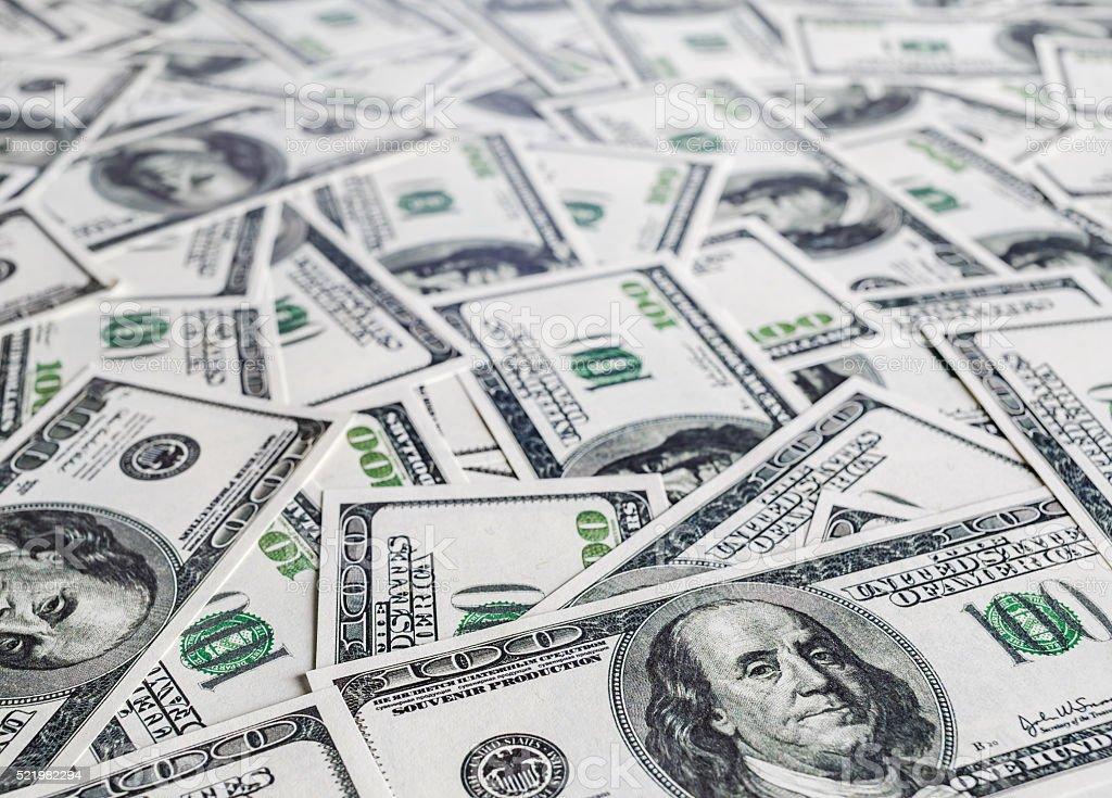 Money as background stock photo