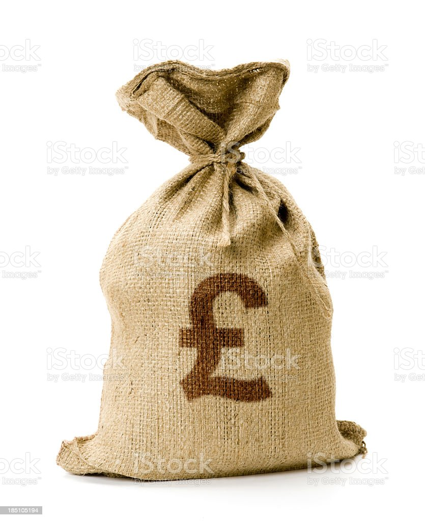 Money Bag stock photo