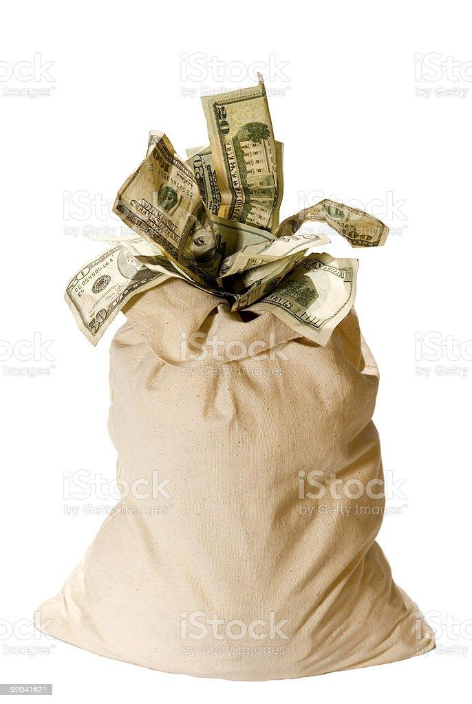 Money Bag! royalty-free stock photo