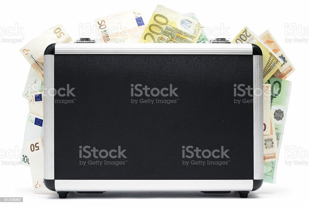 Money Baggage royalty-free stock photo