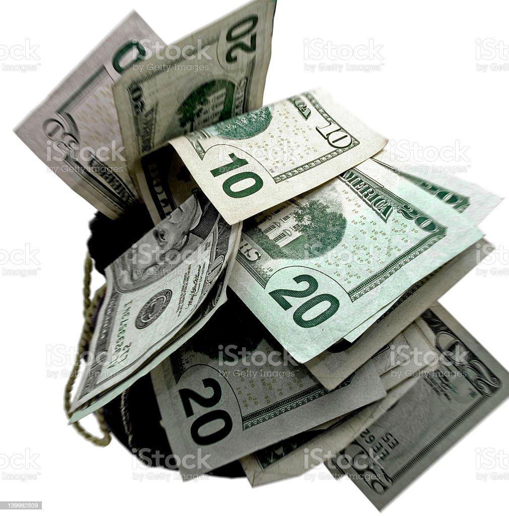 money bags royalty-free stock photo