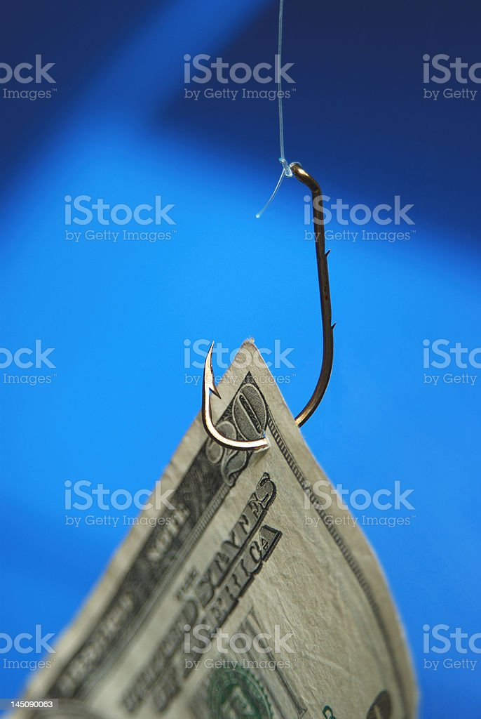 Money Bait stock photo