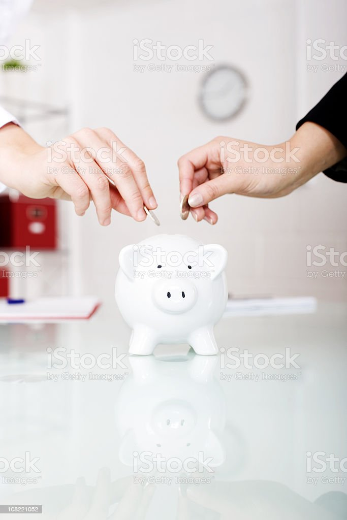 Money box royalty-free stock photo