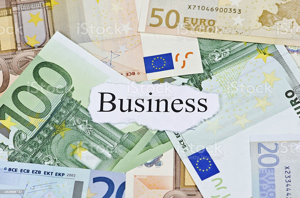 Money Business Concept royalty-free stock photo