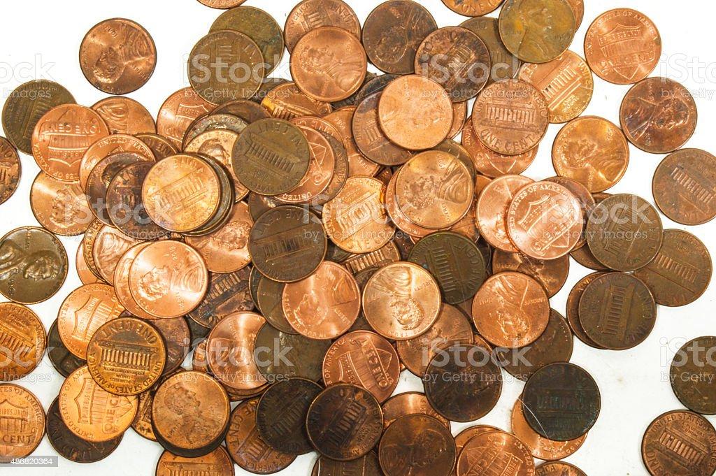 Money Cent 3 stock photo