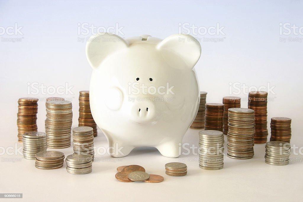 Money 'Cents' stock photo