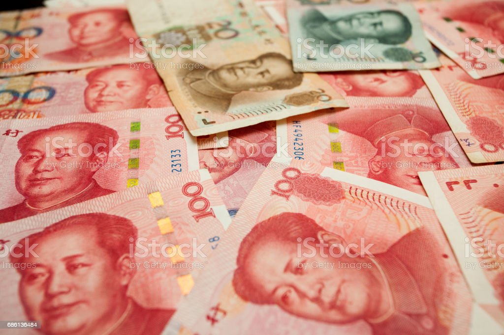 Money, Chinese yuan stock photo
