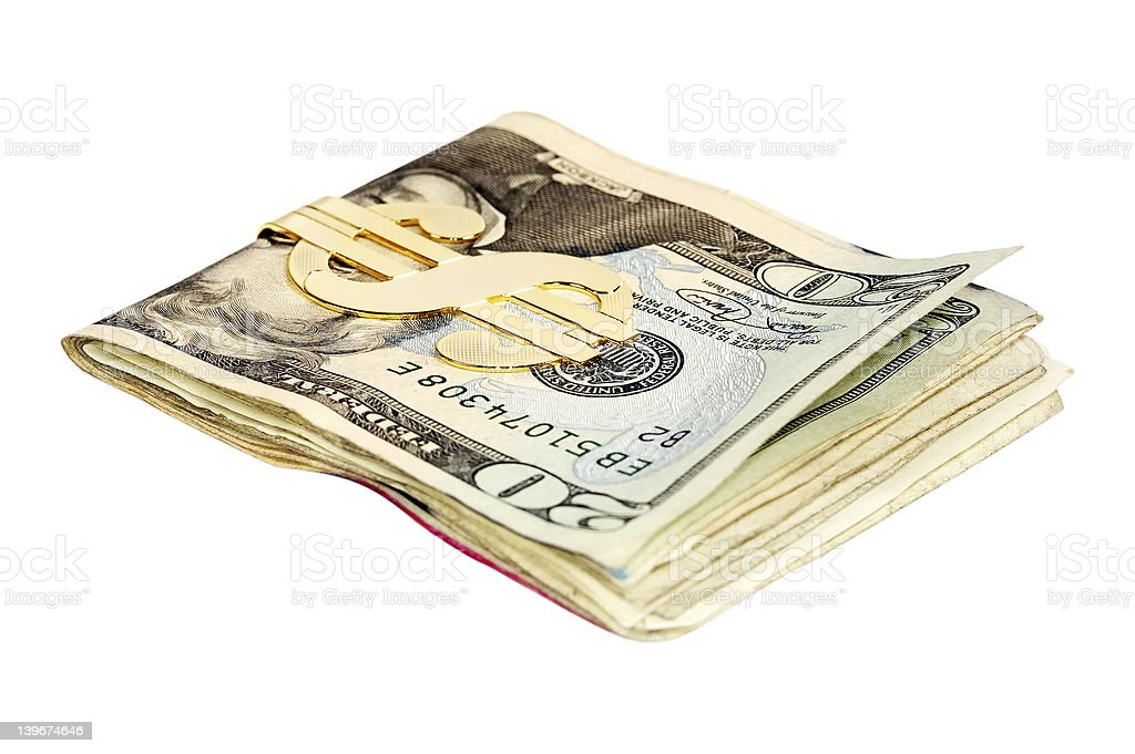 Money Clip royalty-free stock photo
