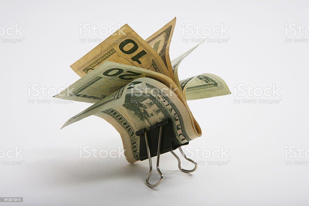 Money Clip stock photo