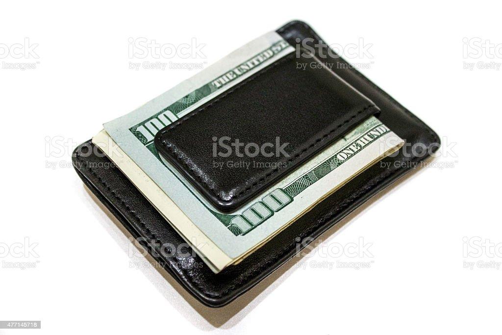 Money Clip Wallet stock photo