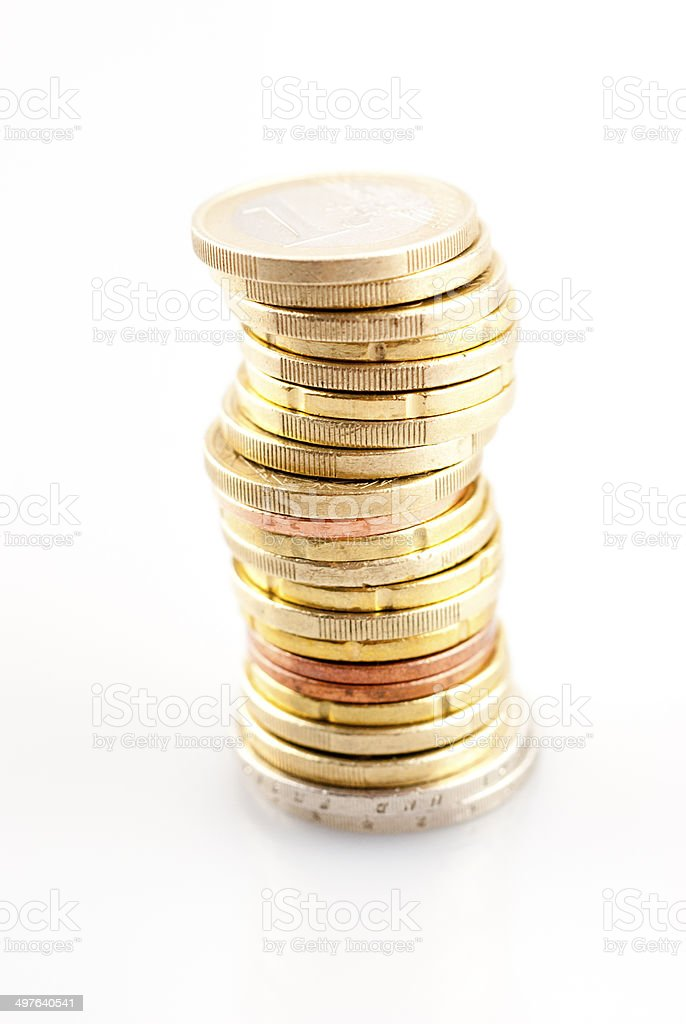Money - Coins royalty-free stock photo