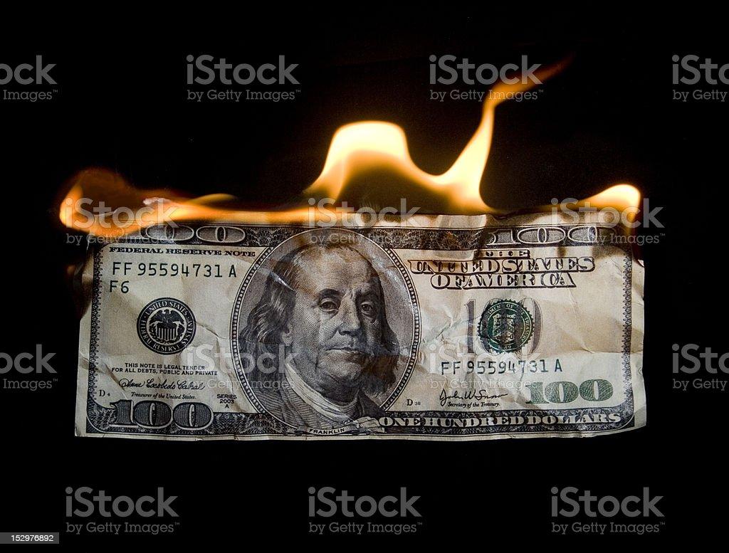 money crisis stock photo