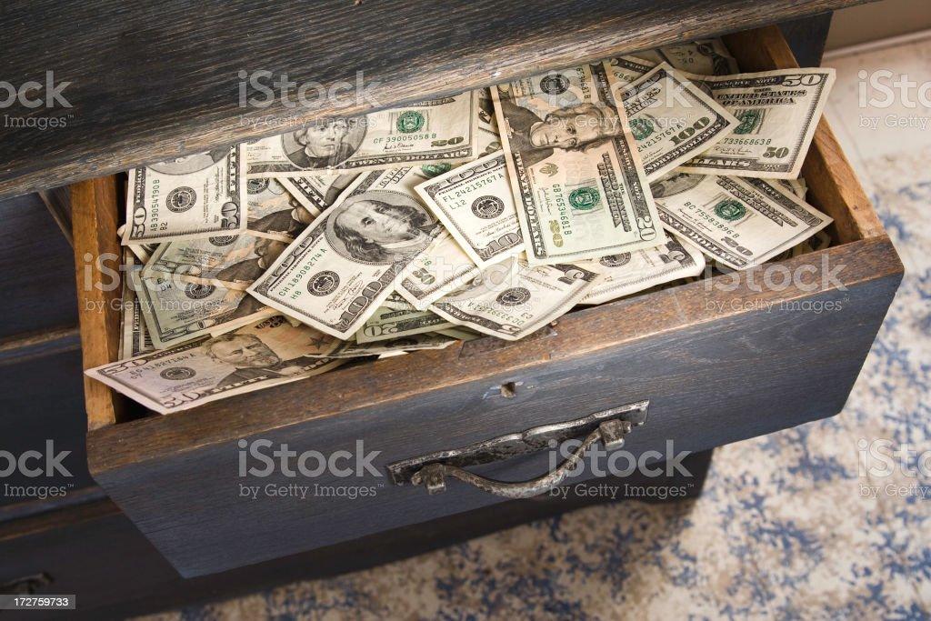 Money Drawer royalty-free stock photo