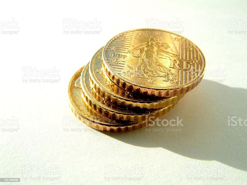 money - euro stack stock photo