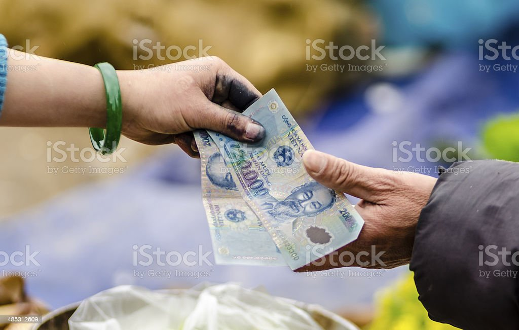 Money exchange [Sunday 11:04 AM 23 Feb 2014] stock photo