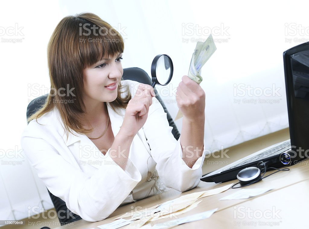 Money expertise royalty-free stock photo