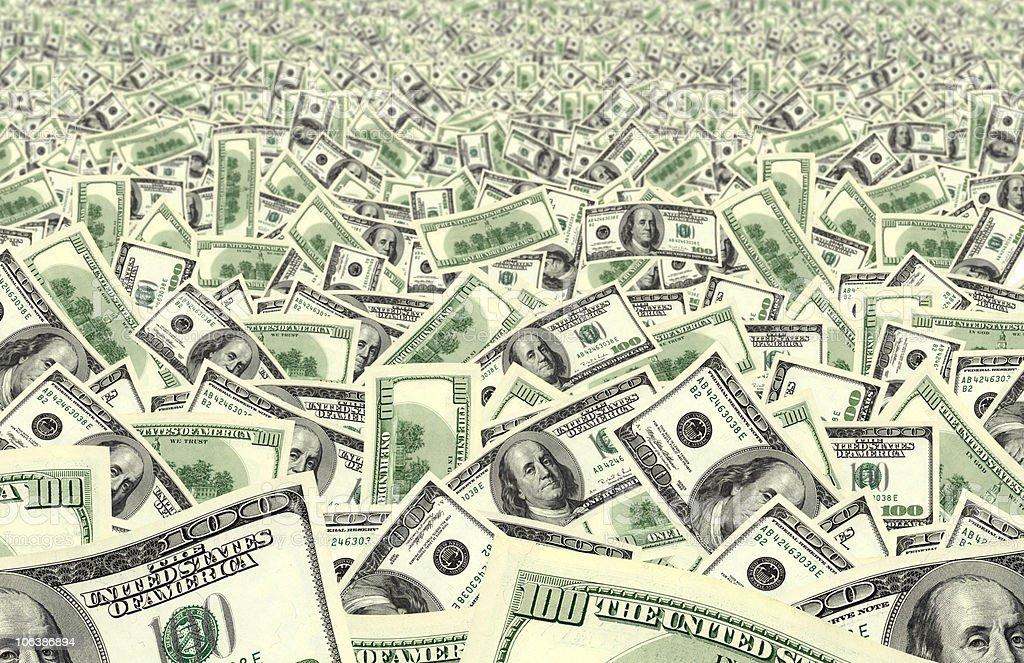 money field stock photo