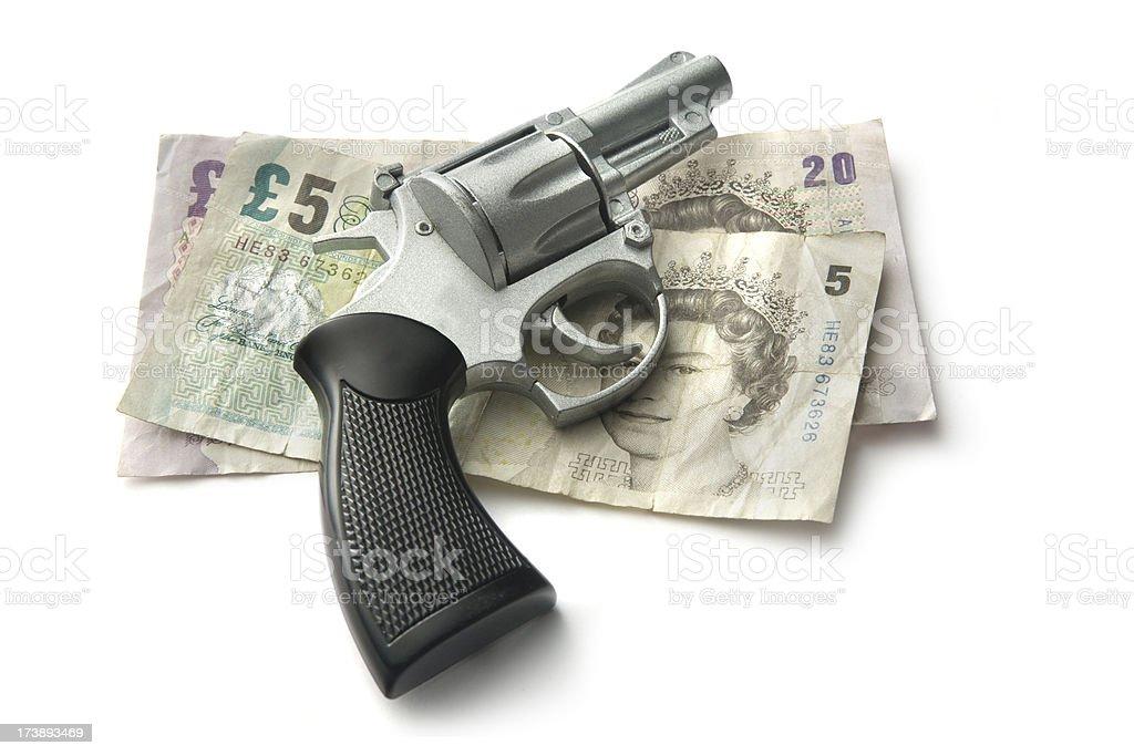 Money: Financial Crisis royalty-free stock photo