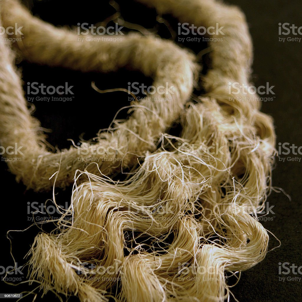 Money for old rope royalty-free stock photo