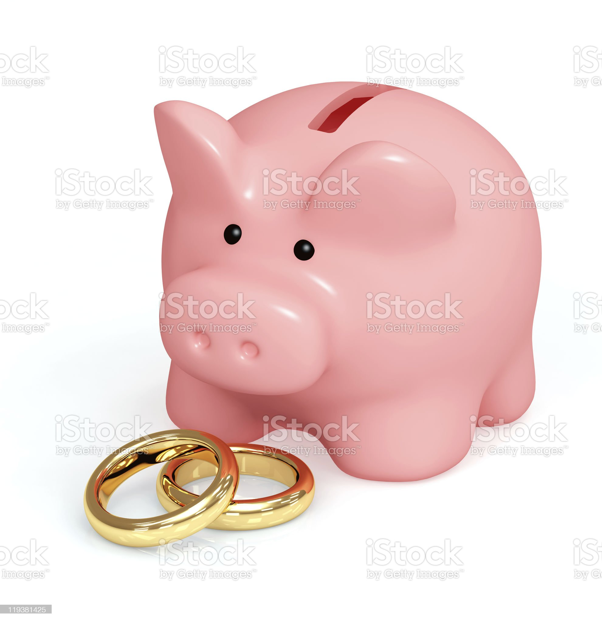 Money for wedding royalty-free stock photo