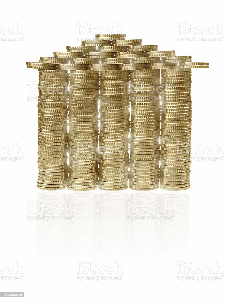 Money for your house stock photo