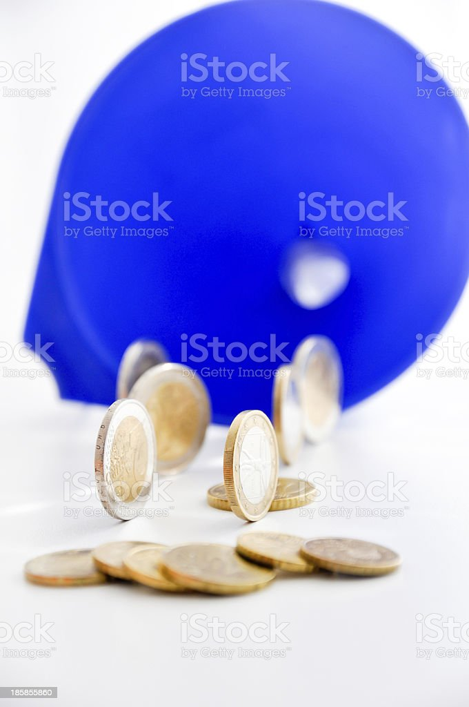 money funnel royalty-free stock photo