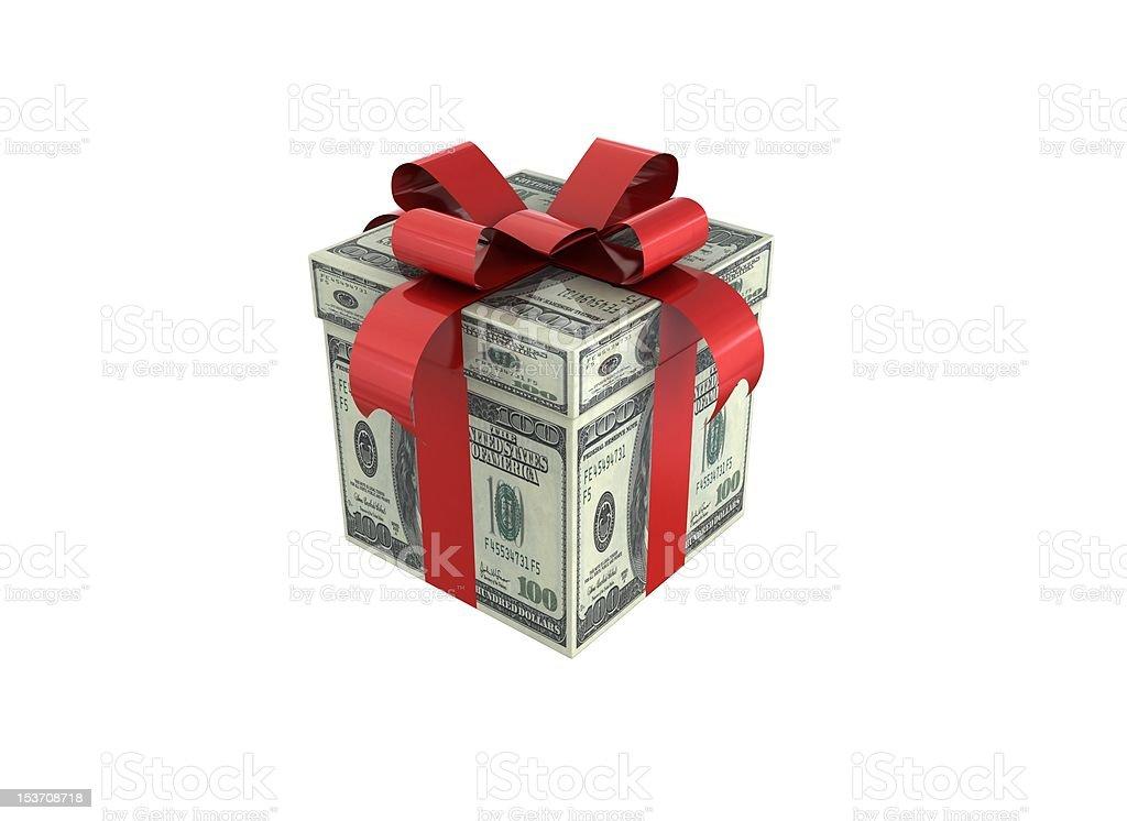 Money Gift royalty-free stock photo