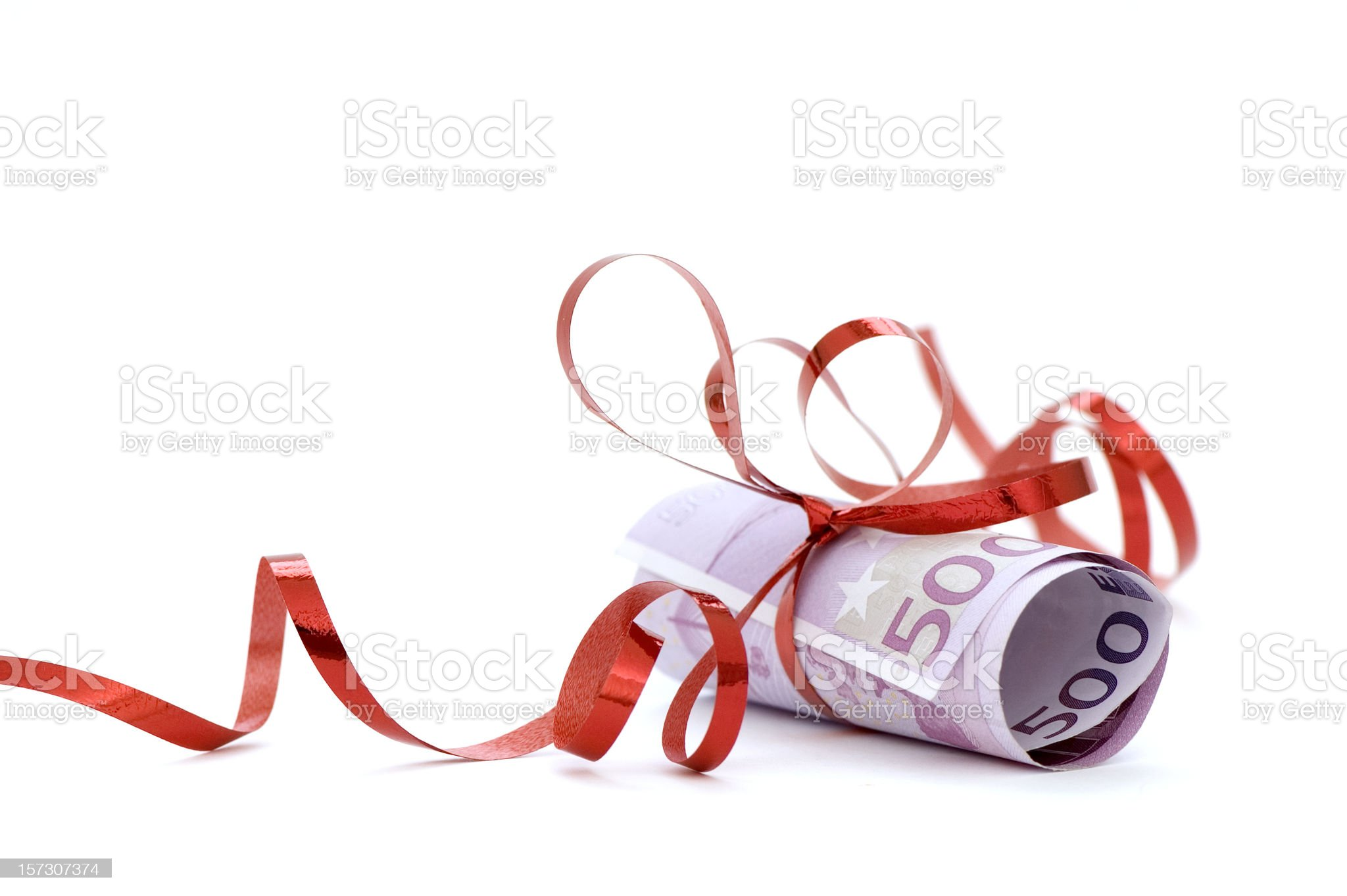 Money Gift royalty-free stock photo