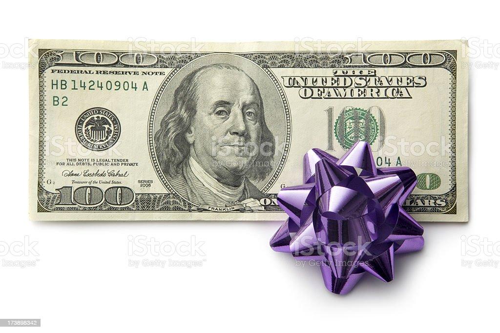 Money: Gift royalty-free stock photo