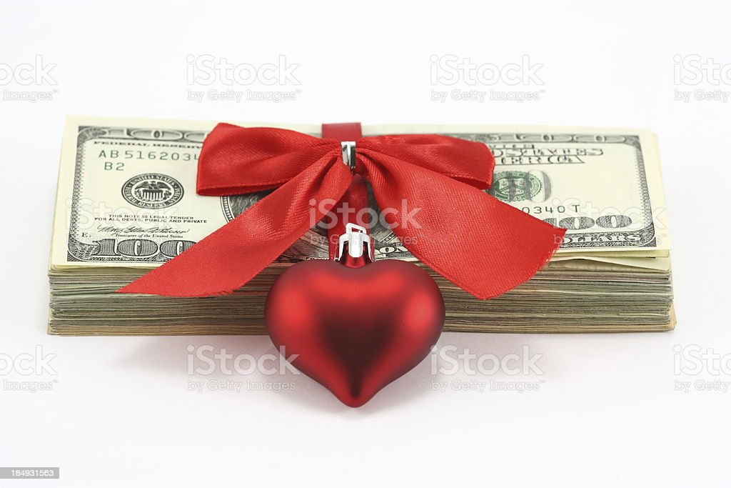 Money Gift stock photo