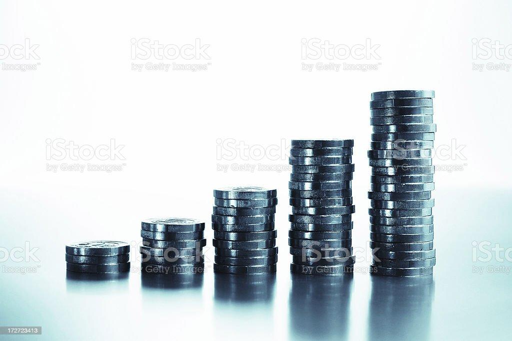 Money Growth royalty-free stock photo