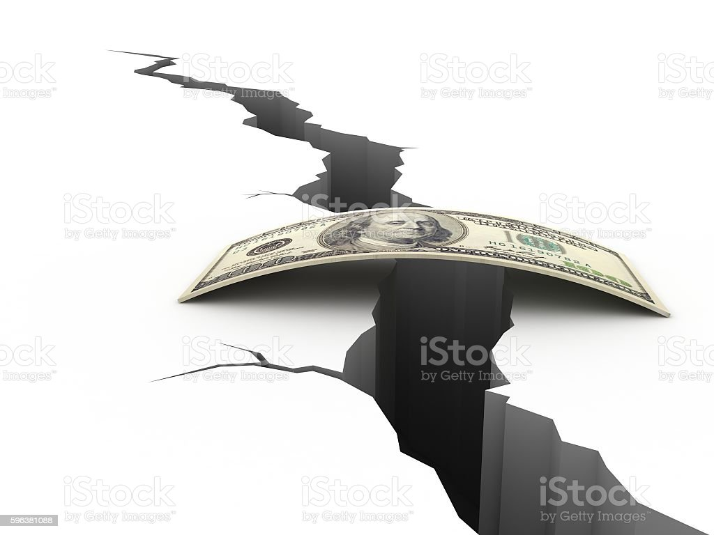 Money help support earthquake crisis risk insurance concept stock photo