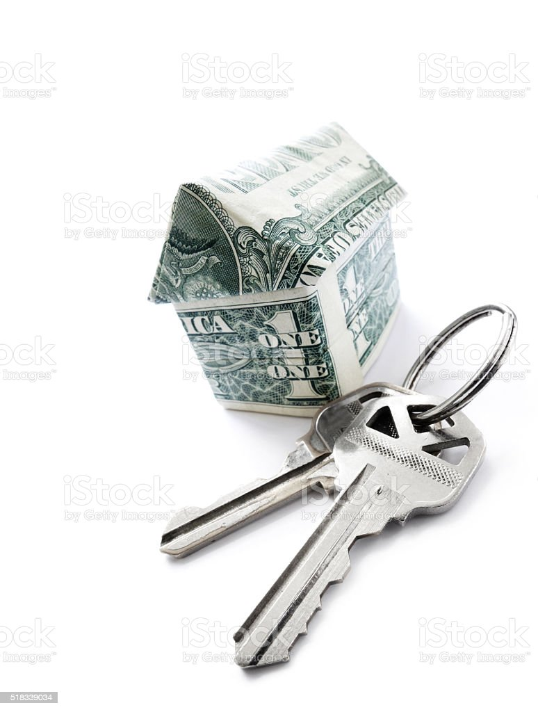 money house keys stock photo