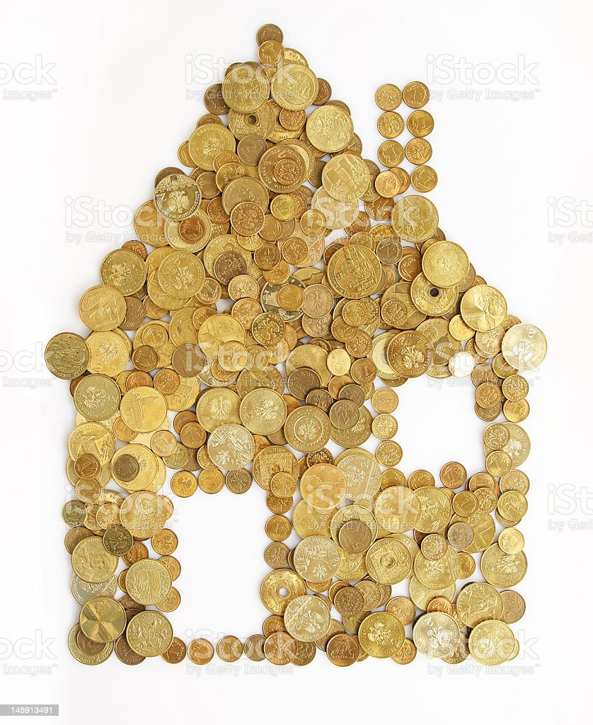 money house royalty-free stock photo